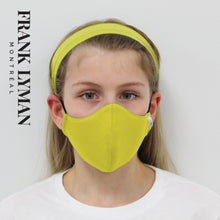 Load image into Gallery viewer, Unisex Kids Mask in Citrus Solid