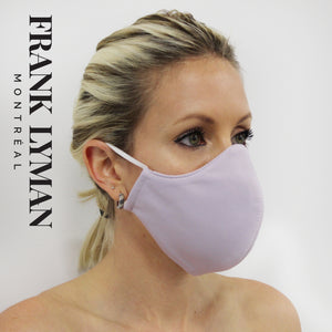 Unisex Adult Masks (Set of 2 in Lavender Solid Color)