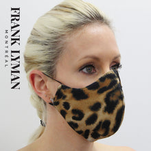 Load image into Gallery viewer, Unisex Adult Mask in Big Leopard Print