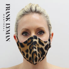 Load image into Gallery viewer, Unisex Adult Masks (Set of 2 in Big Leopard Print)