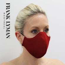 Load image into Gallery viewer, Unisex Adult Mask in Red Solid Color