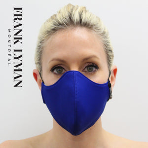 Unisex Adult Mask in Royal Solid Color