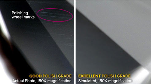 diamond polish marks
