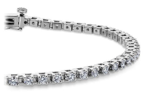 pront-set tennis bracelet