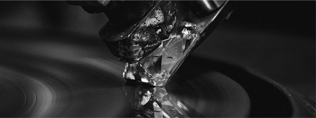 polishing a diamond