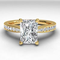 18kt Yellow Gold/radiant