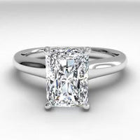 18kt White Gold/radiant