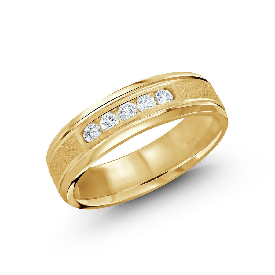 14kt Yellow Gold/front