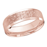 18kt Rose Gold/7 mm/front