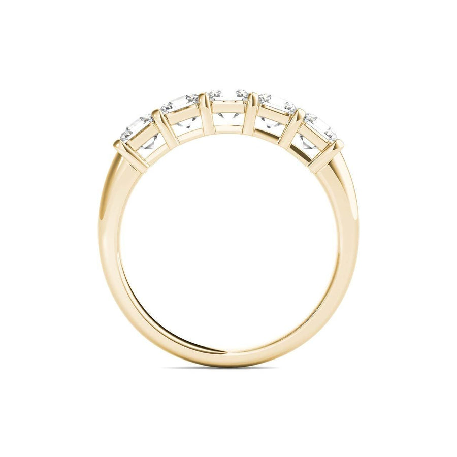 18kt Yellow Gold/1.50 CTW/front