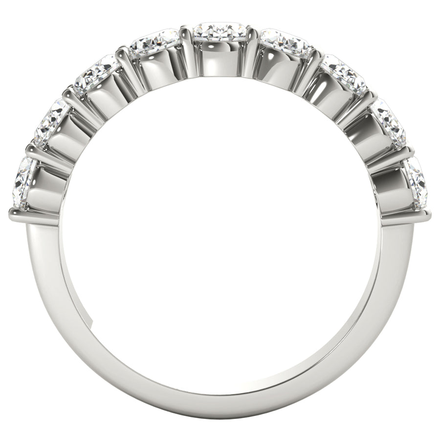 18kt White Gold/2.00 CTW/front