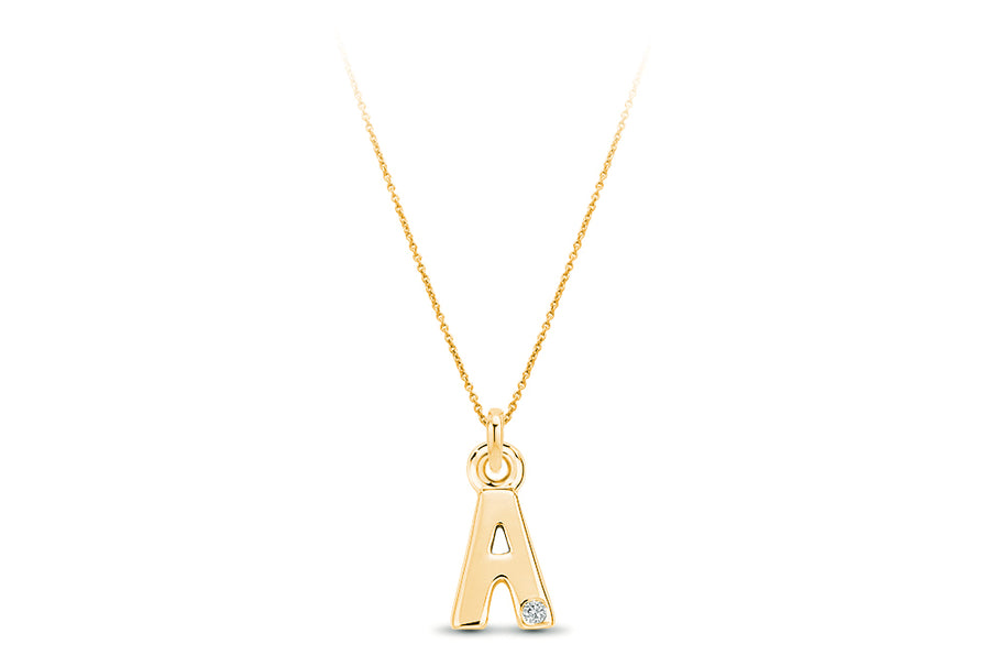 14kt Yellow Gold/A/front