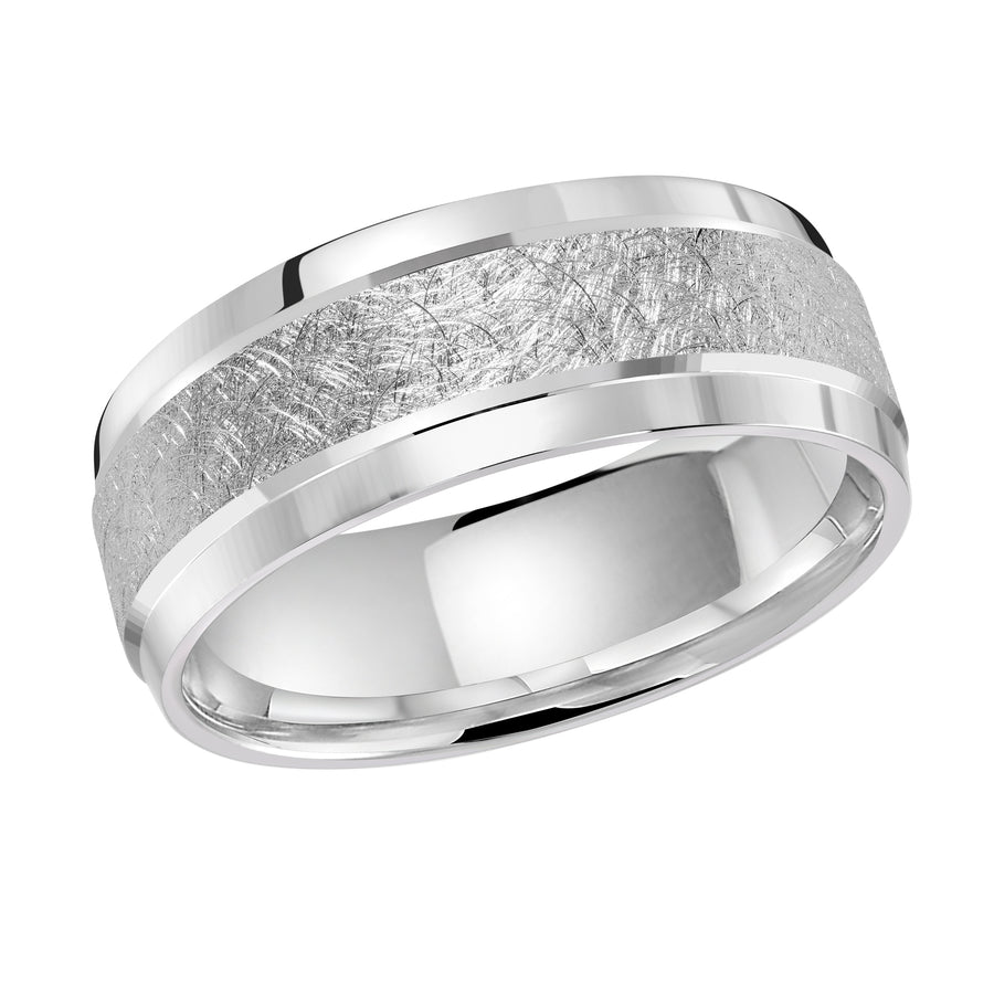 18kt White Gold/front