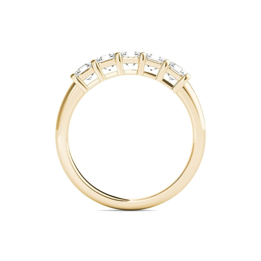 18kt Yellow Gold/1.00 CTW/front