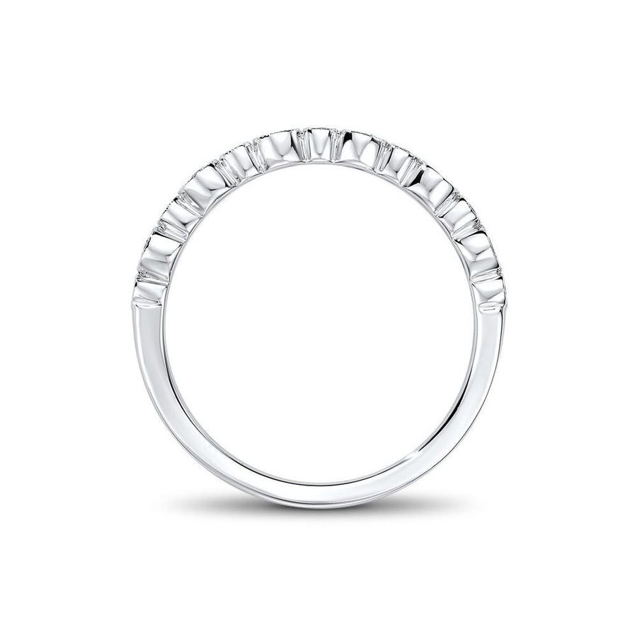 14kt White Gold/front
