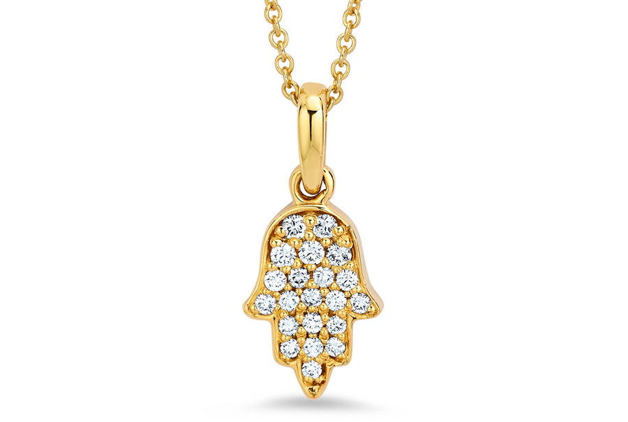 14kt Yellow Gold/Diamond/front