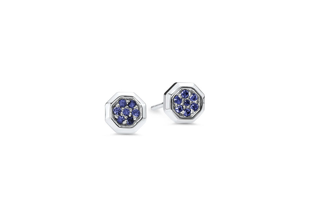 Sterling Silver/Blue Sapphire/front