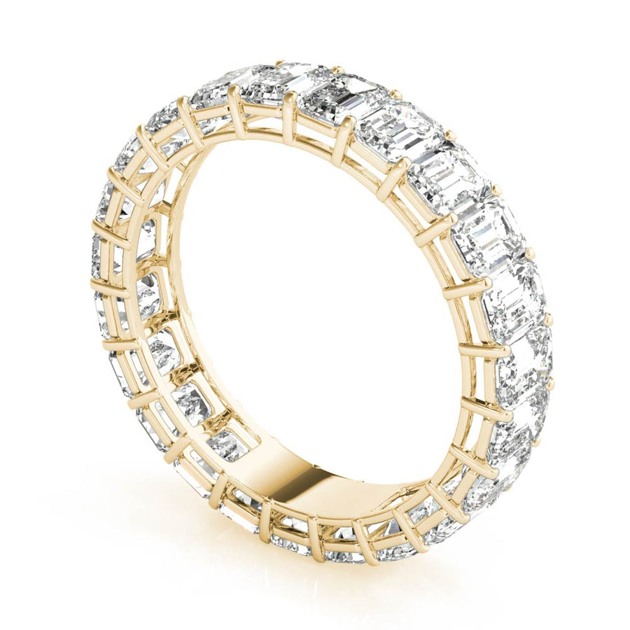 18kt Yellow Gold/4.68 CTW/front