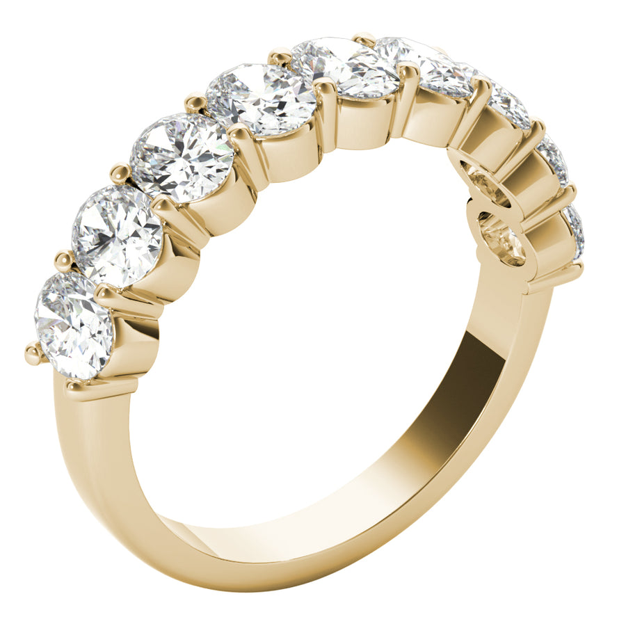 18kt Yellow Gold/2.00 CTW/front