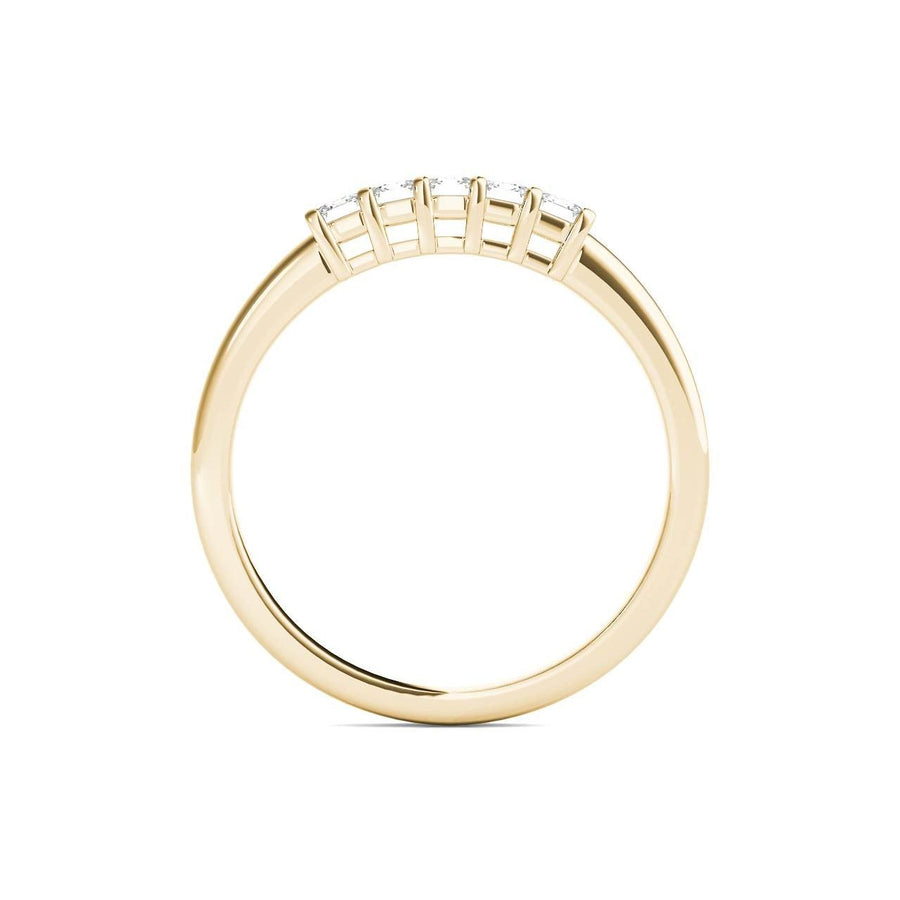 18kt Yellow Gold/0.50 CTW/front