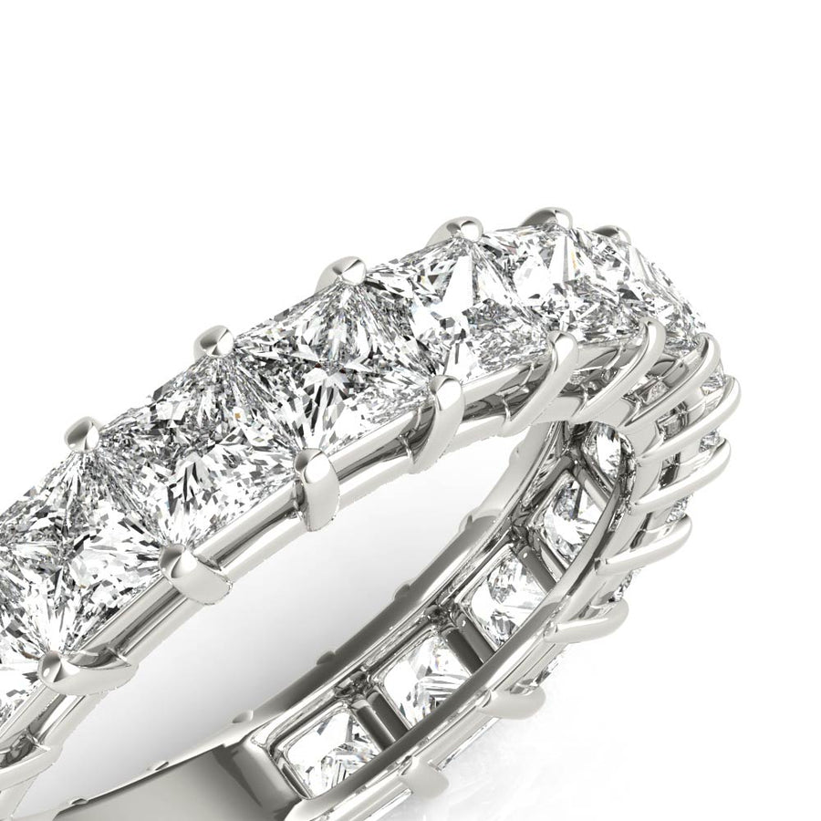 18kt White Gold/3.71 CTW/isometric