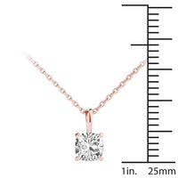 18kt Rose Gold/0.70 CTW/measurement