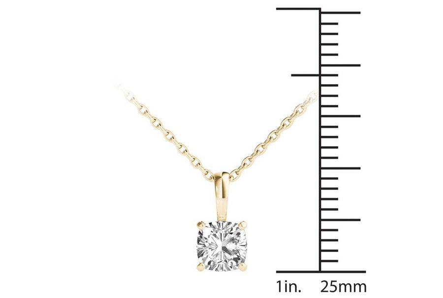 18kt Yellow Gold/0.50 CTW/measurement