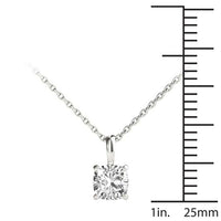 14kt White Gold/0.70 CTW/measurement