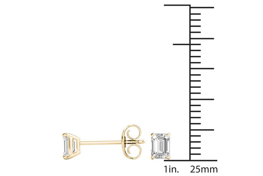 18kt Yellow Gold/0.60 CTW/measurement
