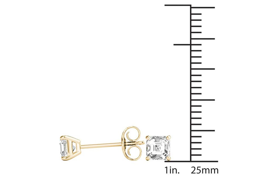 18kt Yellow Gold/0.80 CTW/measurement