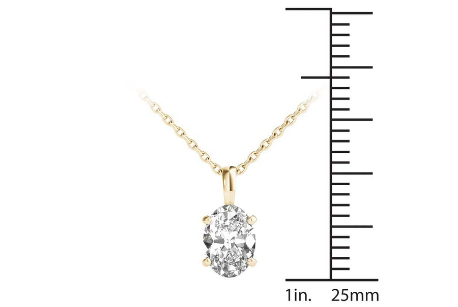 18kt Yellow Gold/0.70 CTW/measurement