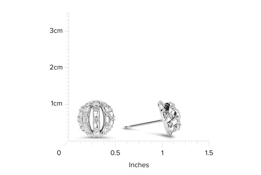 14kt White Gold/measurement