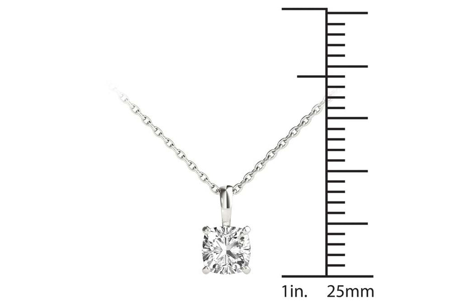 18kt White Gold/0.70 CTW/measurement
