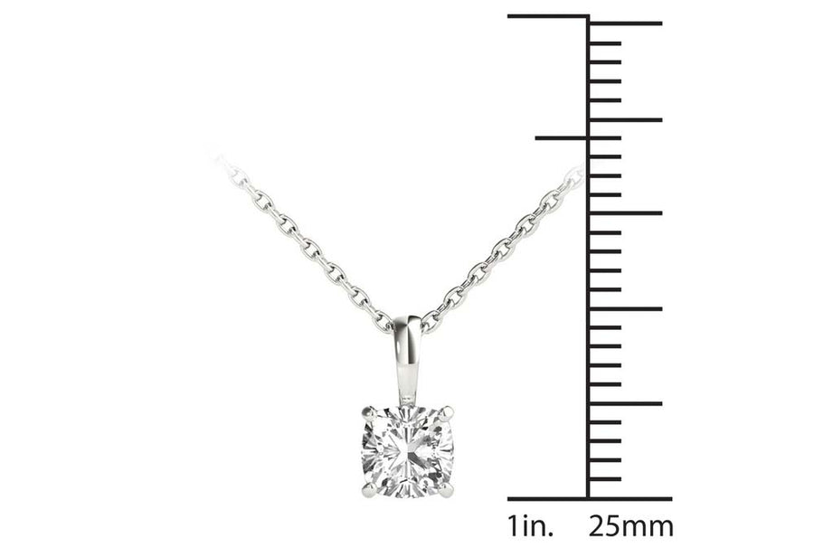 14kt White Gold/0.50 CTW/measurement