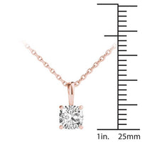 18kt Rose Gold/0.50 CTW/measurement