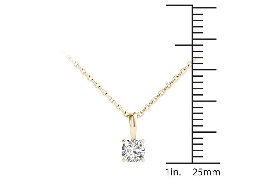 18kt Yellow Gold/0.30 CTW/measurement