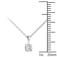14kt White Gold/0.30 CTW/measurement