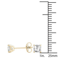18kt Yellow Gold/1.00 CTW/measurement