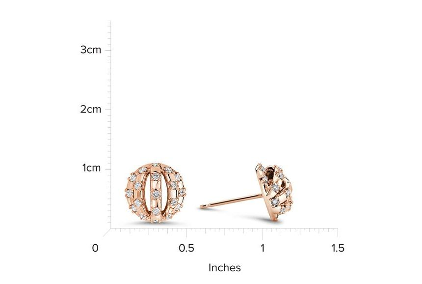 18kt Rose Gold/measurement
