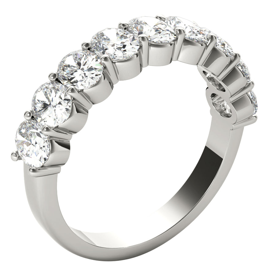 18kt White Gold/2.00 CTW/side