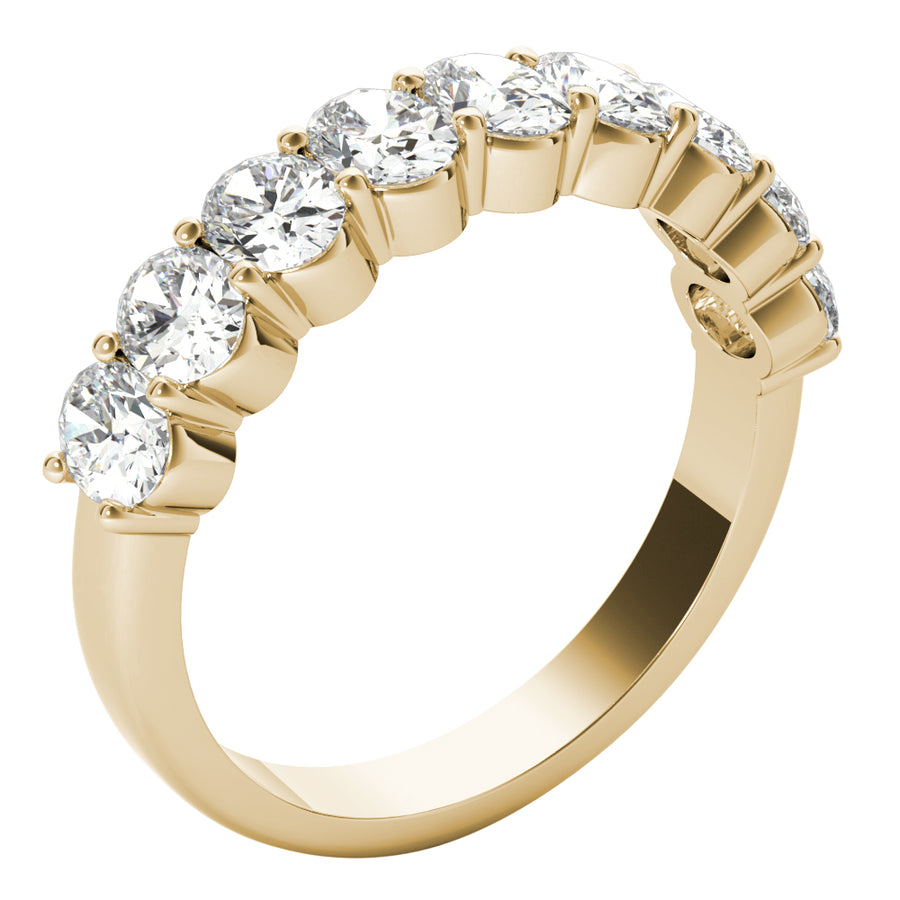 18kt Yellow Gold/1.00 CTW/side