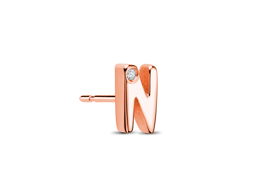 18kt Rose Gold/N/side