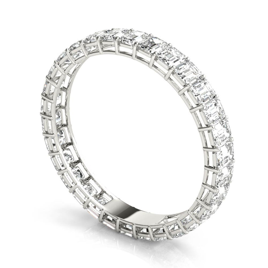 18kt White Gold/1.83 CTW/side