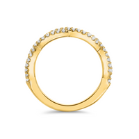 18kt Yellow Gold/side