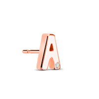 18kt Rose Gold/A/side