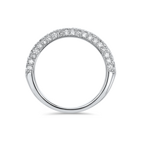 18kt White Gold/side