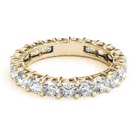 18kt Yellow Gold/2.60 CTW/top