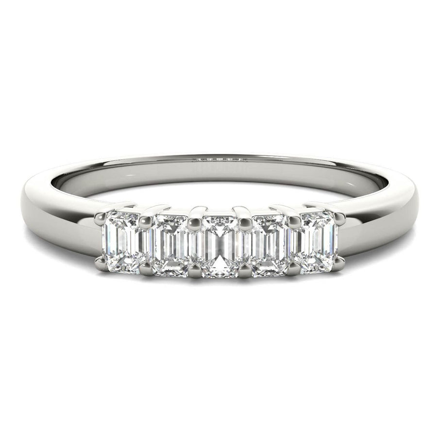 18kt White Gold/0.50 CTW/top
