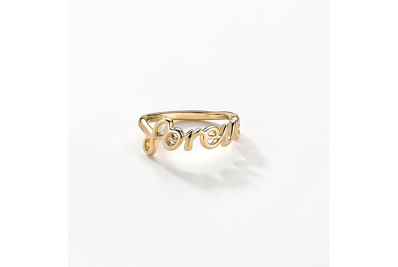 18kt Yellow Gold/Forever/top