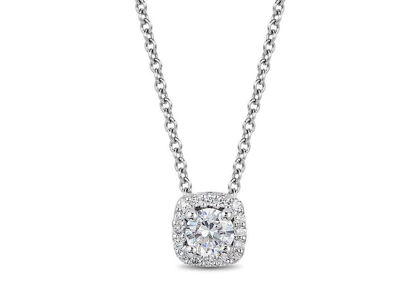 14kt White Gold/0.25 CTW/top